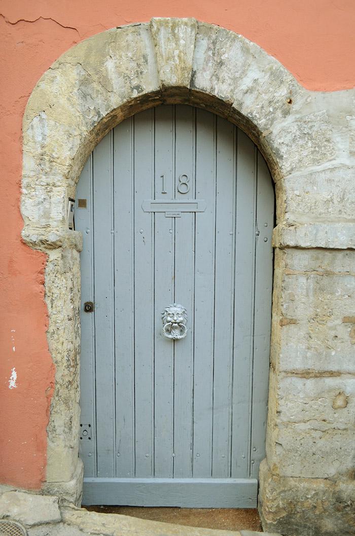Porte d'entrée chambre d'hôtes bienvenue chez sylvie lyon
